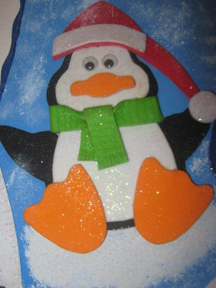 Decoracion navide a con pinguinos buscar con google - Buscar manualidades de navidad ...
