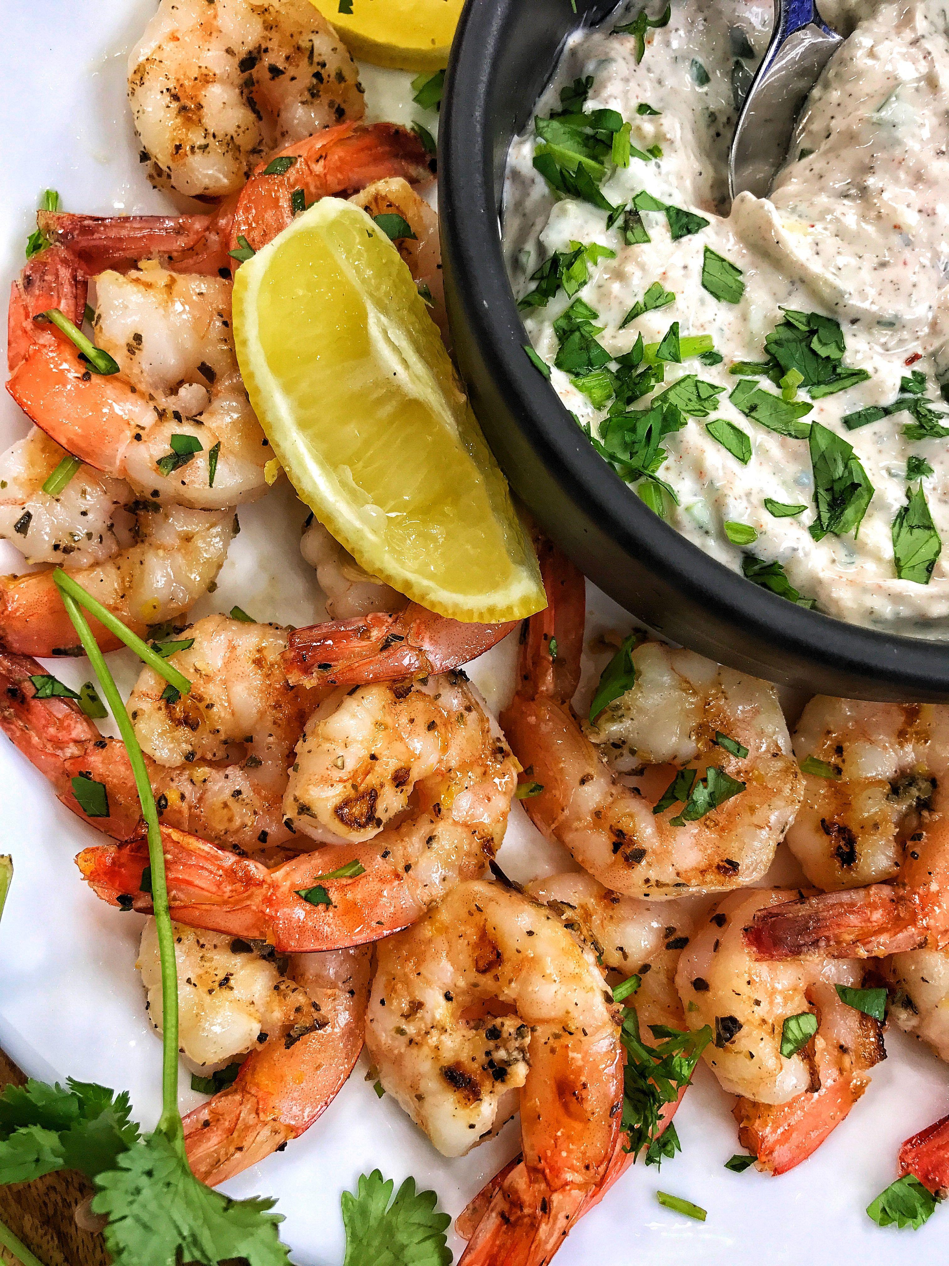 Lemon Oregano Grilled Shrimp (Darius Cooks) | DARIUS COOKS | Grilled