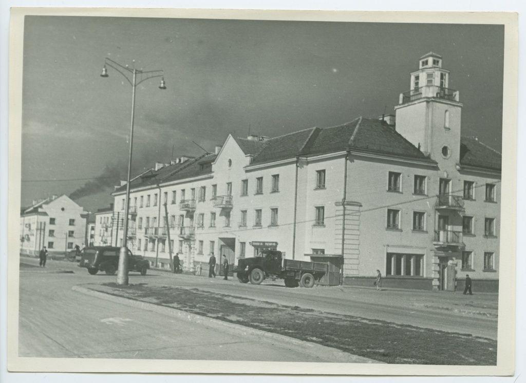 Tallinn, Majaka tööliskvartal Lasnamäel.