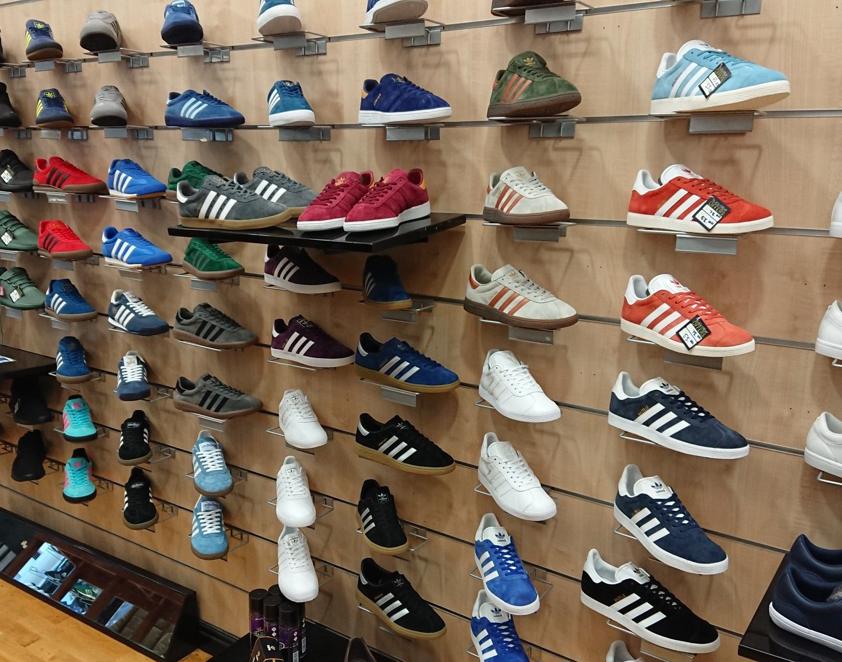 Football casuals, Adidas gazelle