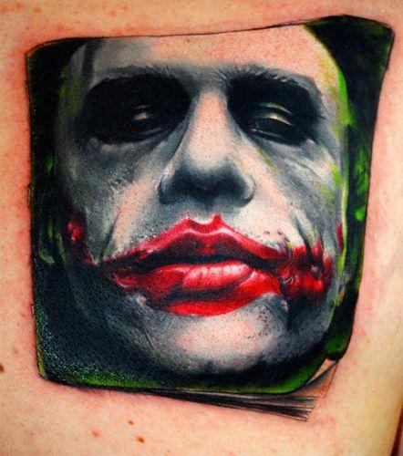 Joker Amazing Tattos Weird Tattoos Batman Joker Tattoo