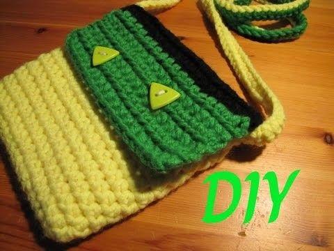 Tasche. Beutel häkeln DIY Tutorial (auch für Anfänger) | Crochet ...