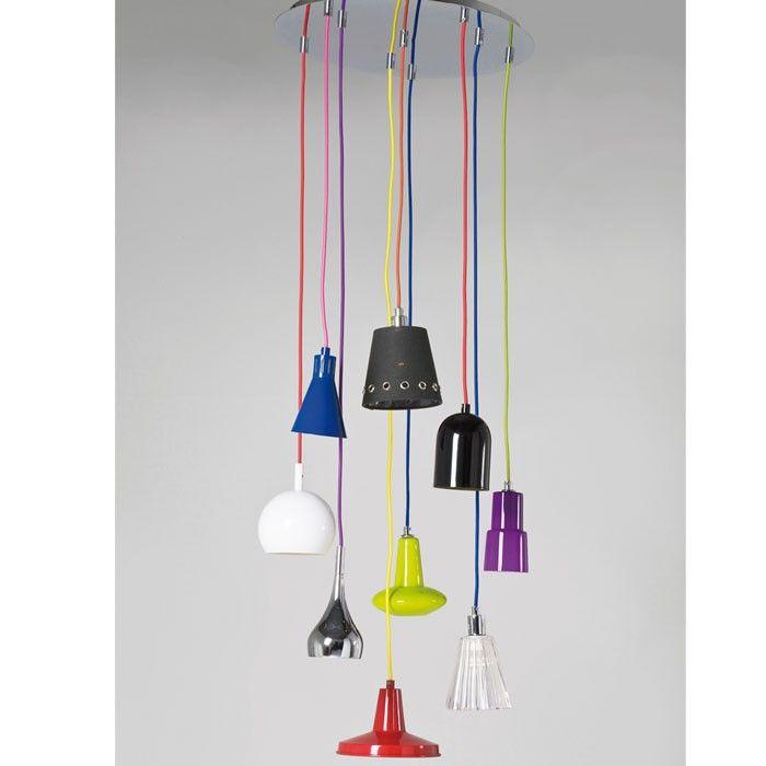 Mooie lamp van Kare Design.  Wellicht een leuk idee om zelf te maken?
