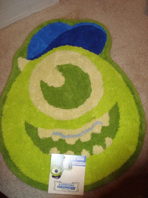 Monsters University Bathroom Decor   Cool Stuff to Buy and Collect. Monsters University Bath Mat   Bathroom Decor   Pinterest