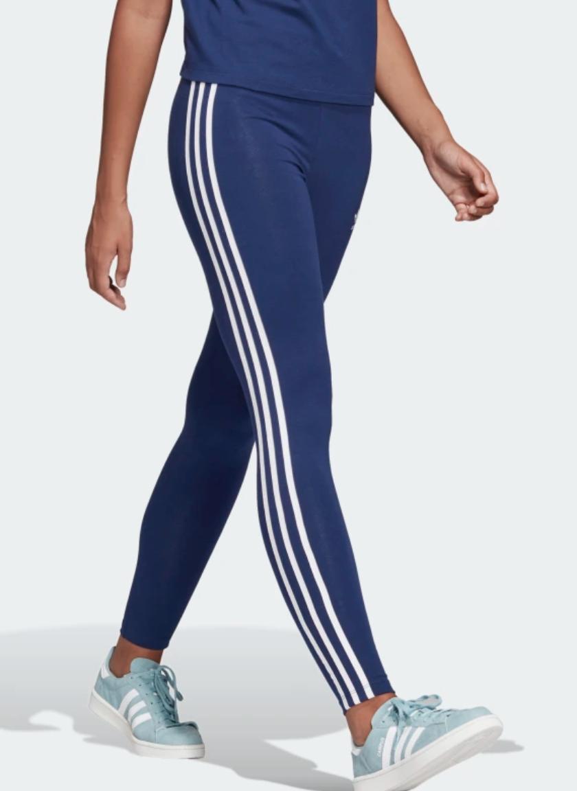 Adidas 3 Stripe Leggings Dark Blue Pants For Women Adidas Pants Women Adidas Women