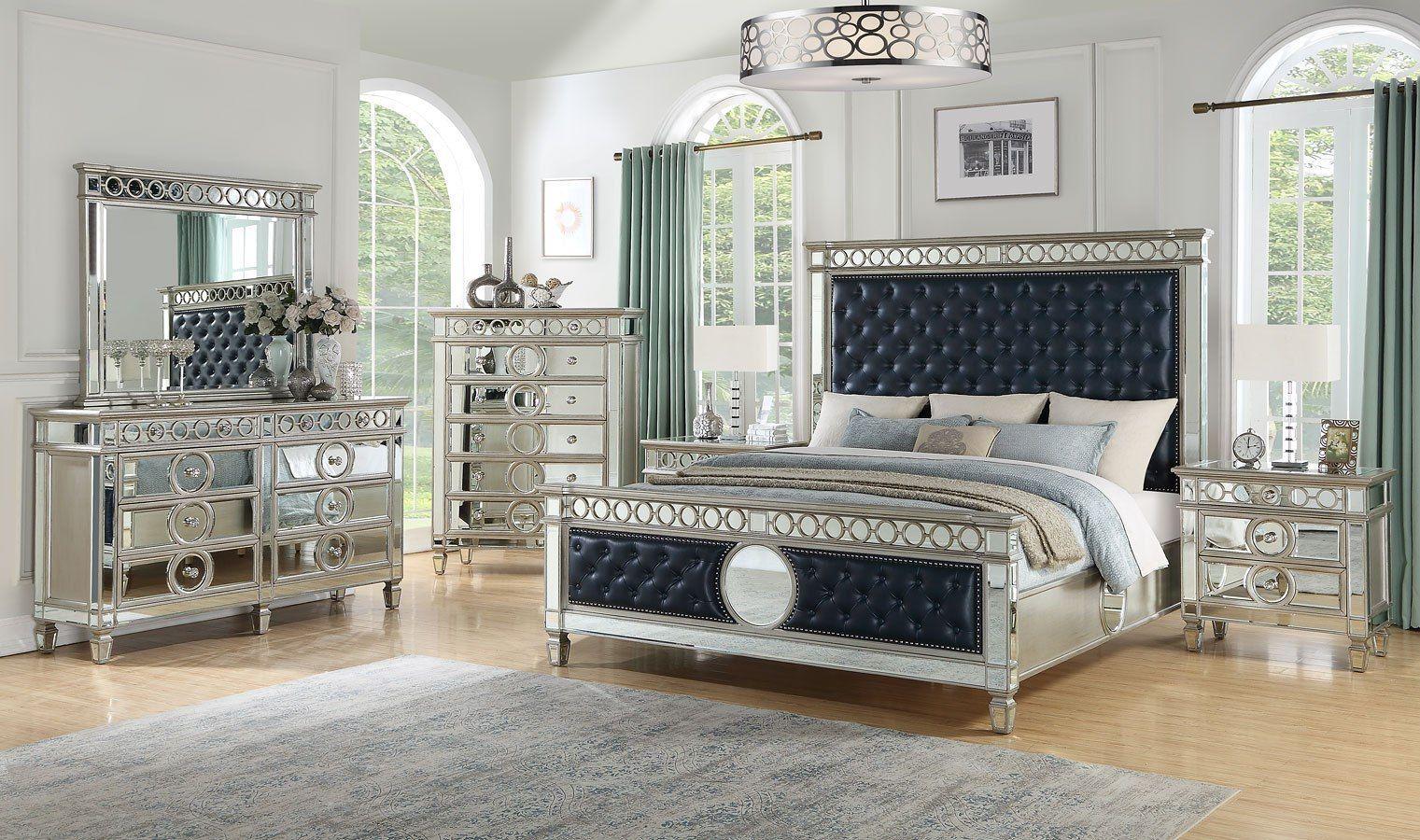 Brooklyn Panel Bedroom Set Home, White paneling, Bedroom