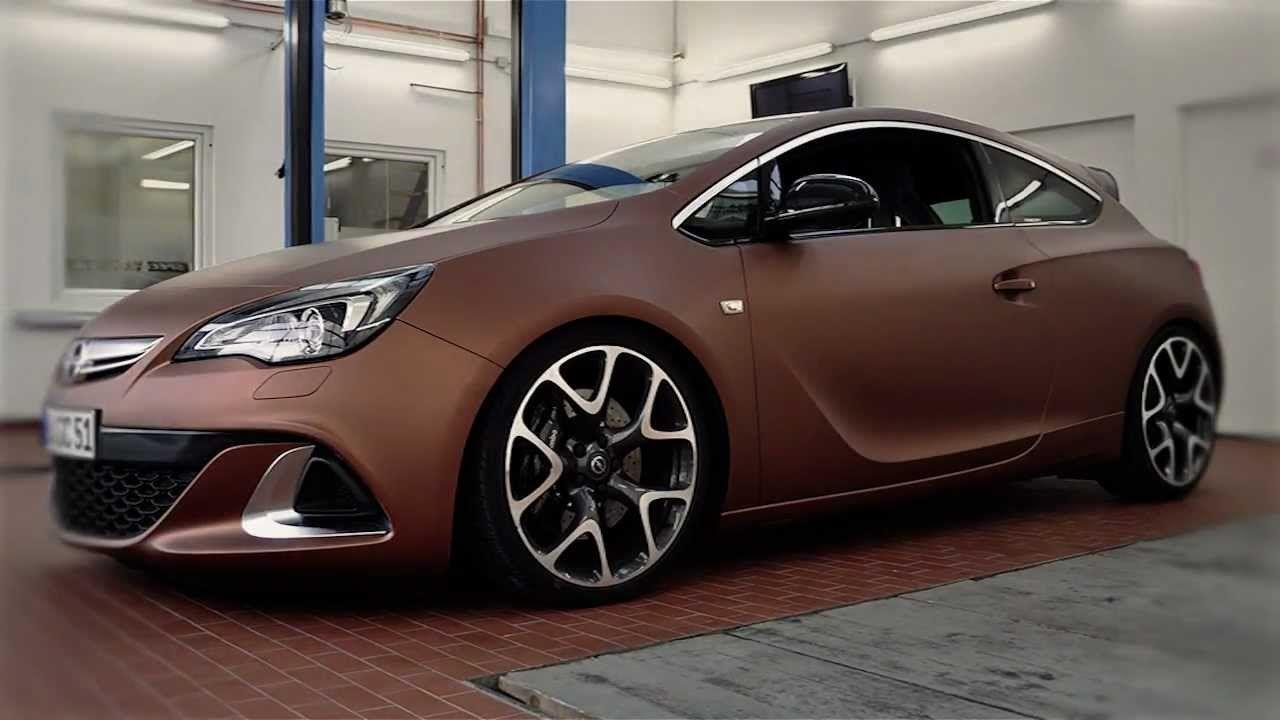 How To Wrap A Car Opel Astra Opc Aztec Bronze Car Car Videos Car Wrap