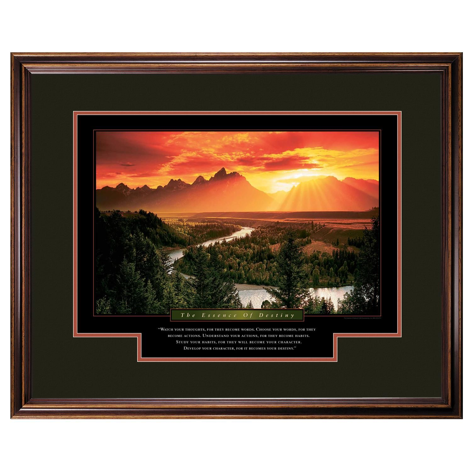 the office motivational posters. The Essence Of Destiny Framed Motivational Poster Office Posters