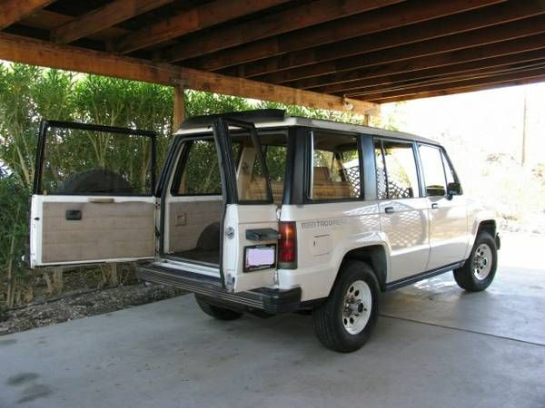 1986 Isuzu Trooper 4x4 For Sale 4x4 Cars Trooper 4x4 Work Truck