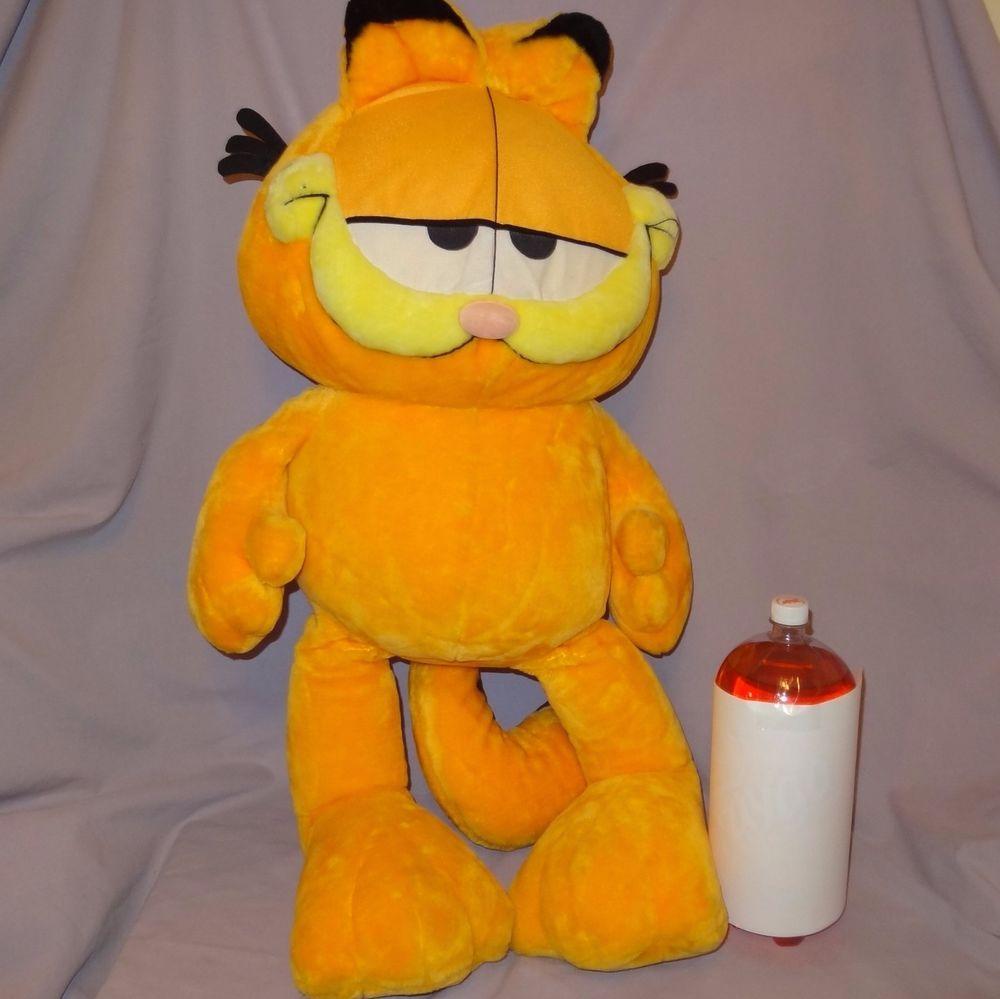 Garfield Huge Plush Stuffed Animal 36 Styrofoam Filled Play By Play Cat Playbyplay ぬいぐるみ