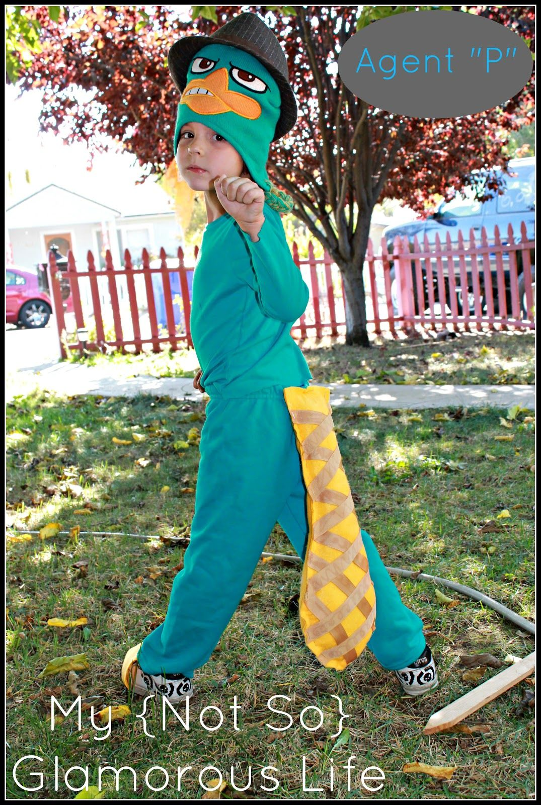agent p perry the platypus halloween costumesmakeup