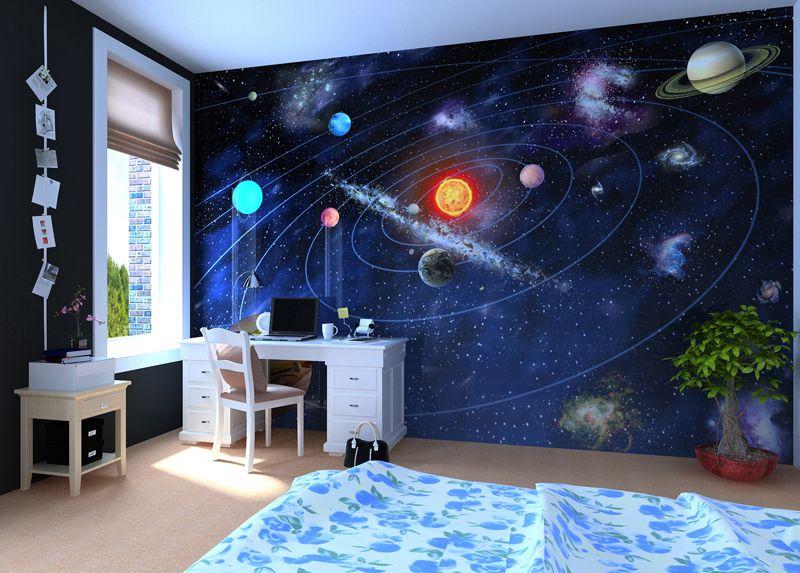 Solar System - Wall mural, Wallpaper, Photowall, Home ...