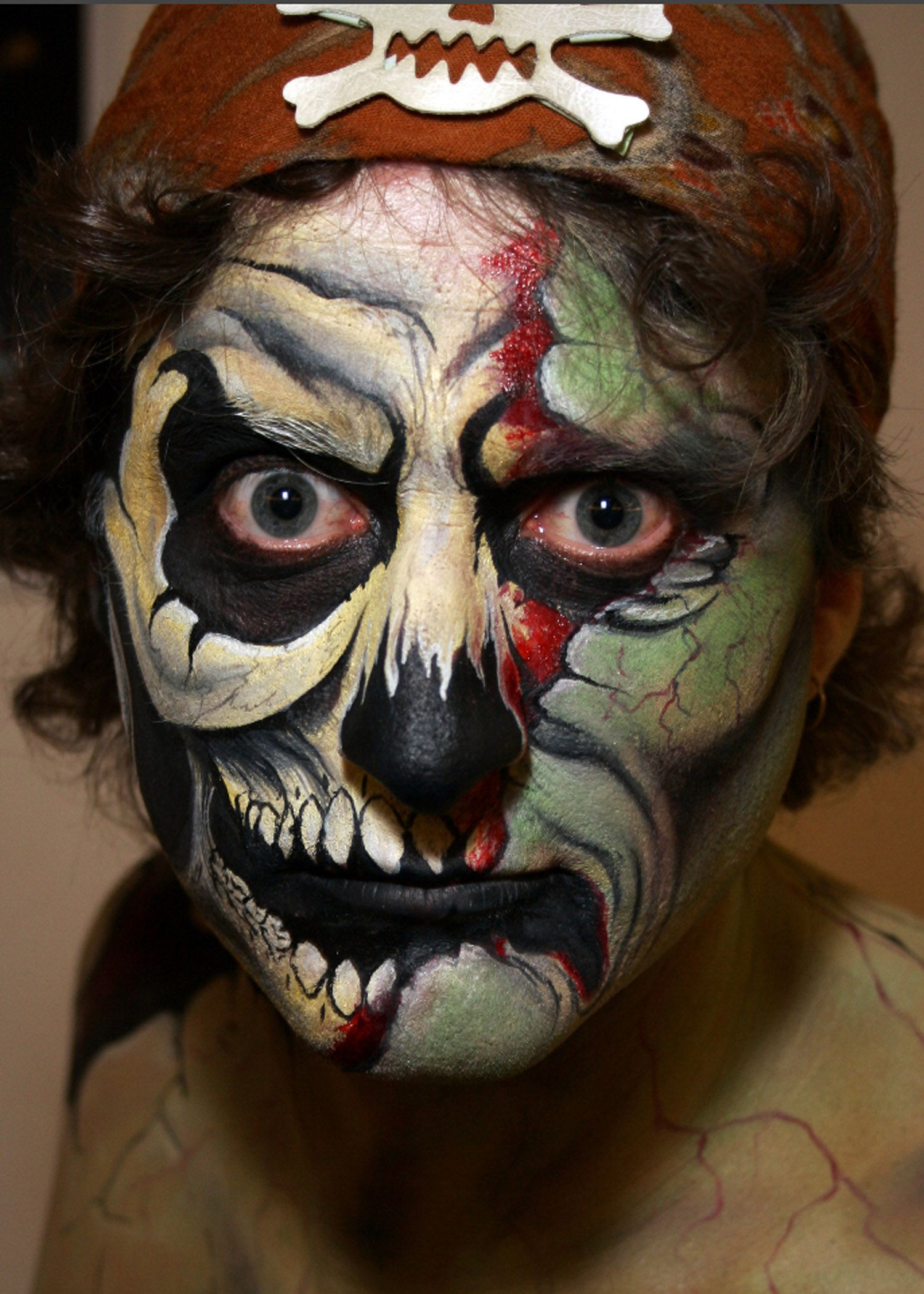 scary pirate bodyfx | www.bodyfx.co.nz | kids halloween 2015
