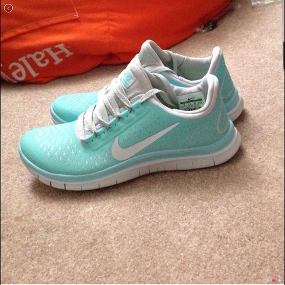 reputable site 9f7fd a8643 nike Free run Tiffany Blue 3.0 v4  Blue  Womens  Sneakers