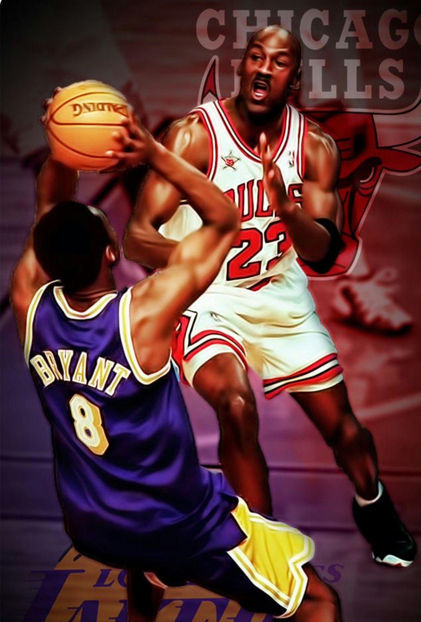 81ed78f90ed Michael Jordan vs. Kobe Bryant