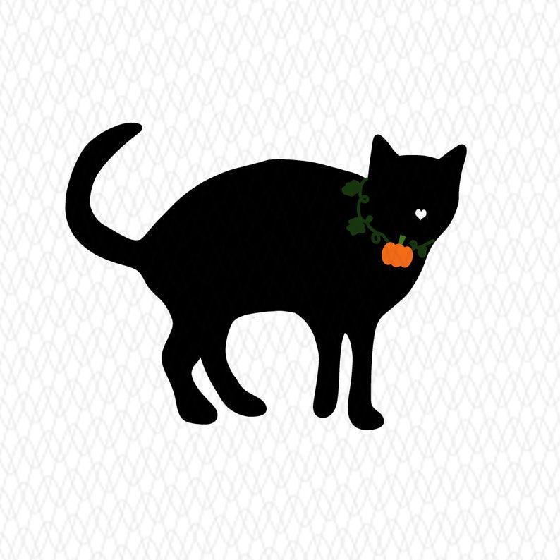 Pumpkin Black Cat Png File Halloween Clipart For Digital Etsy Halloween Digital Halloween Clipart Printable Artwork