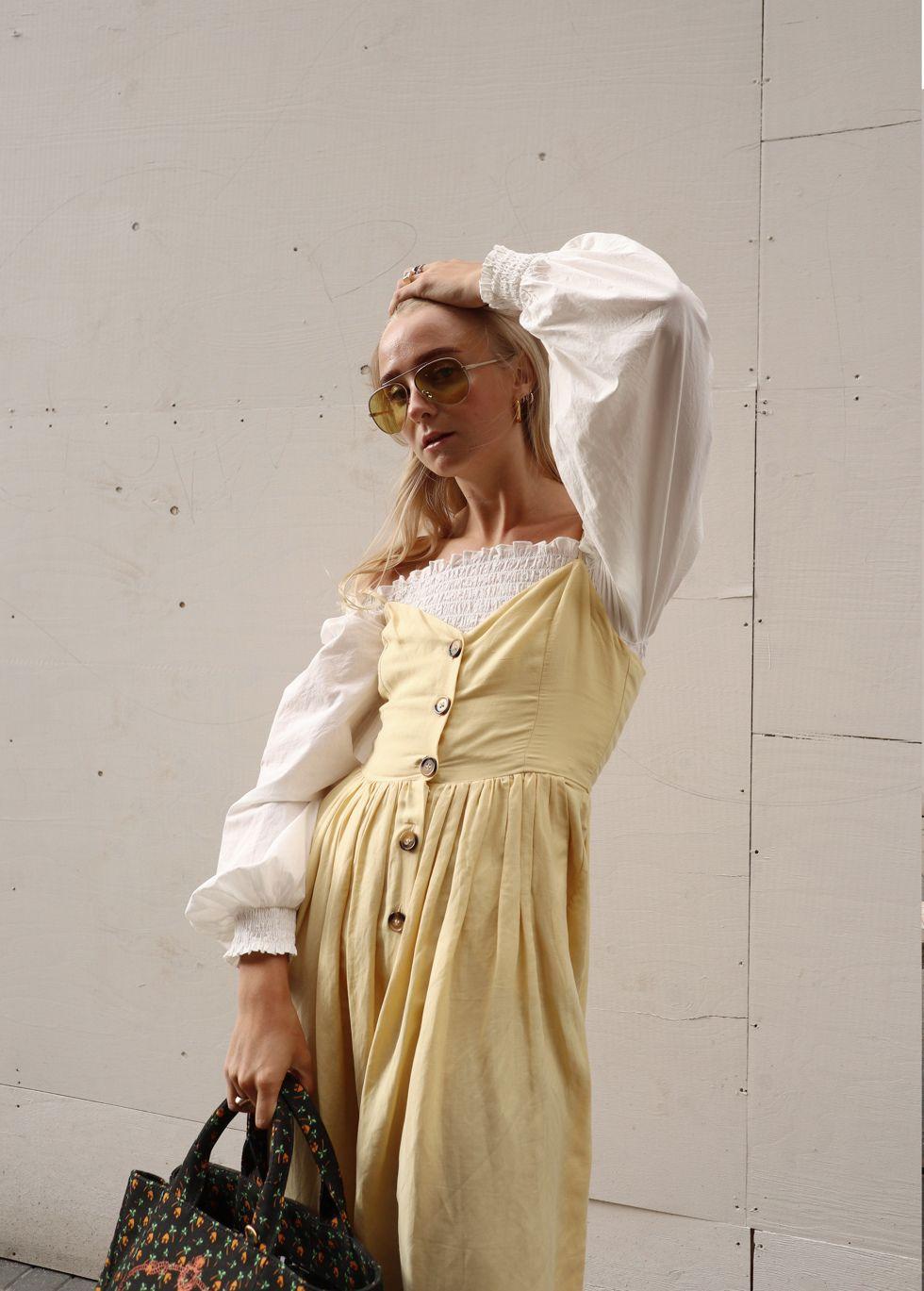 Pin on Women dress linen summer 2020