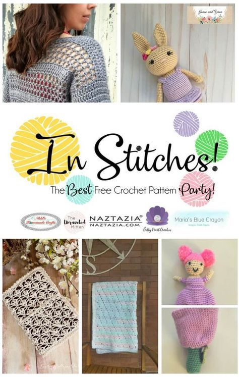 In Stitches Best Free Crochet Pattern Party 8 Crochet