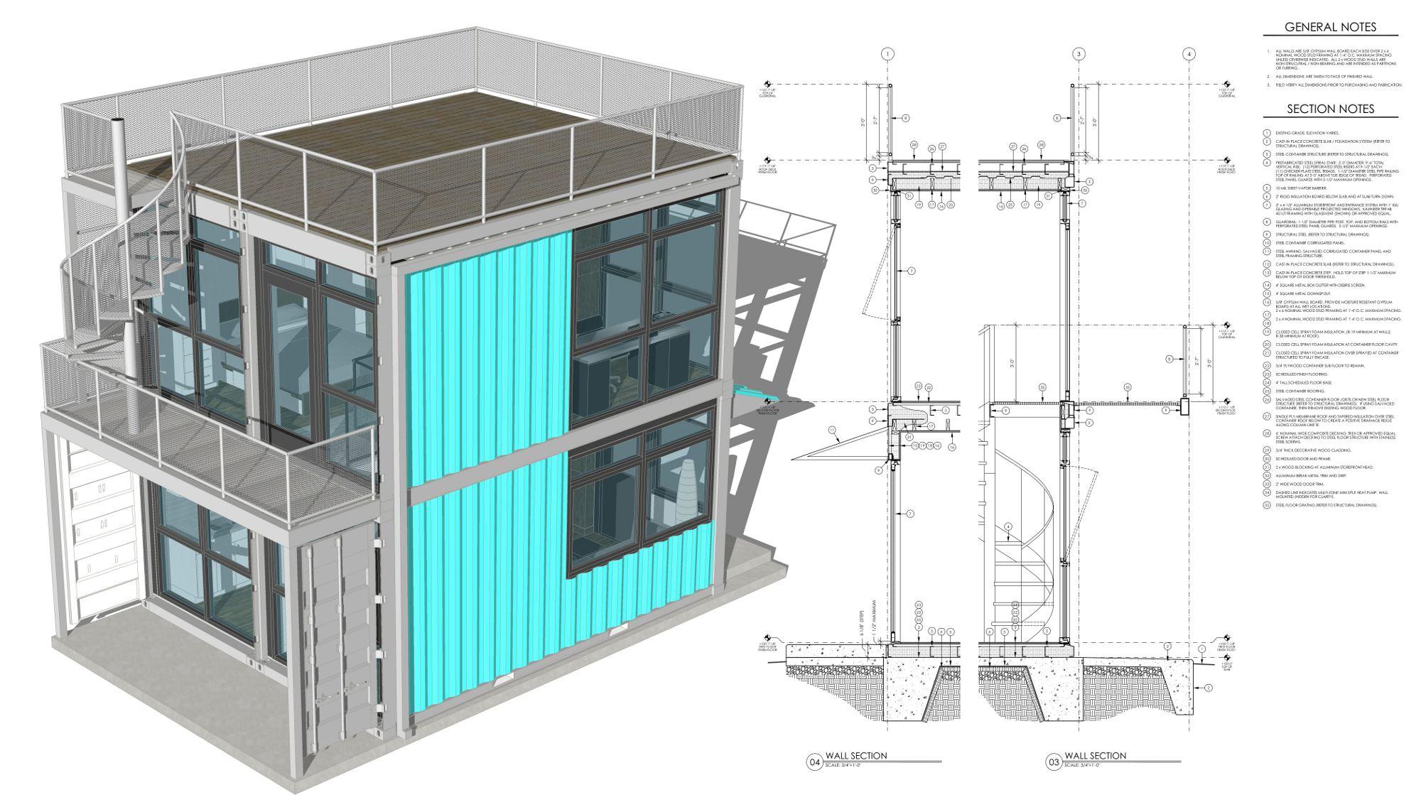 Foxworth Architecture Schnitzelburg Container Homes Housing