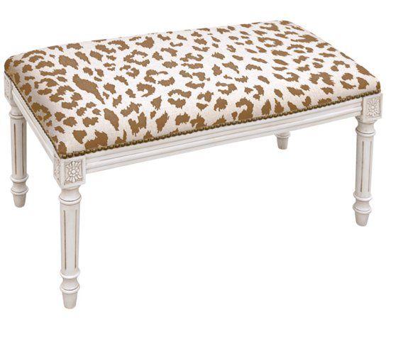 Excellent Ollie 32 Bench Caramel Leopard 245 00 Gold Master Ibusinesslaw Wood Chair Design Ideas Ibusinesslaworg