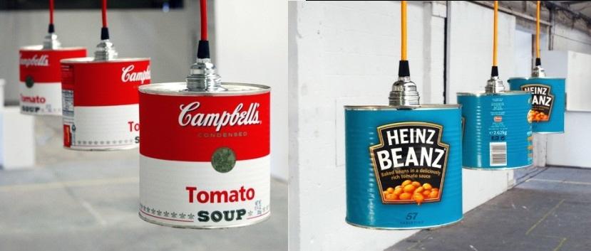 Podem fer una làmpada amb objectes quotidians