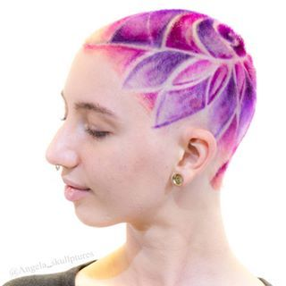 Loved doing this full hairdesign ❤ .  .  . .    For hair bookings with me check in with salon  @cherrybomb_hair  Or send me a dm  .  Colors : @manicpanicnyc .  Model : @alka.kat  .  .  .  . .  #cherrybomb #cherrybombhair #awesomeclients #purplehair #modernsalon  #buzzcutfeed #hair  #melbournehair #melbourne #melbournestylist  #hotonbeauty #hairofinstagram #americansalon  #australiahair #collingwood  #hairtattoo  #undercut