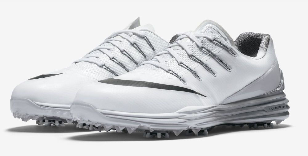 21bcfce6fd61 Nike Men s Lunar Control 4 Golf Shoes 819036 101 White Black Wolf Grey Size  9.5W  Nike  GolfCleats