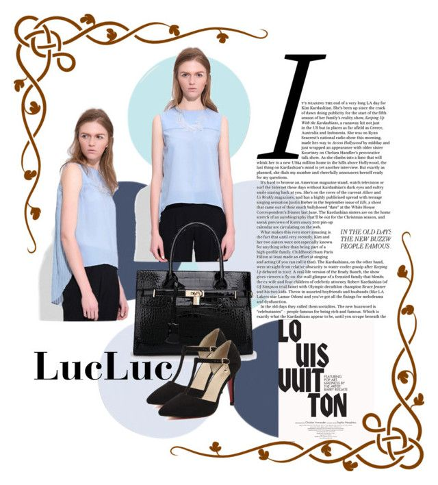 """LucLuc 10"" by divi121314 ❤ liked on Polyvore featuring Louis Vuitton"