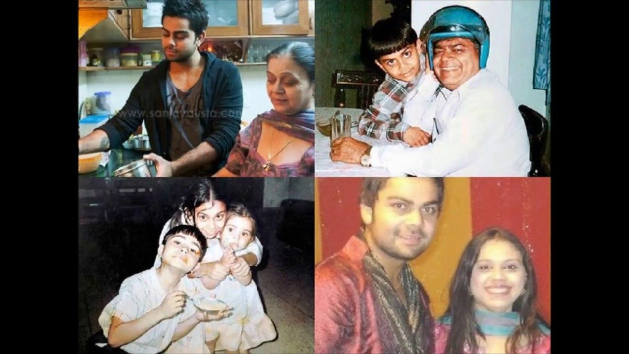 Virat Kohli Family with Father Mother brother and sister photos ...
