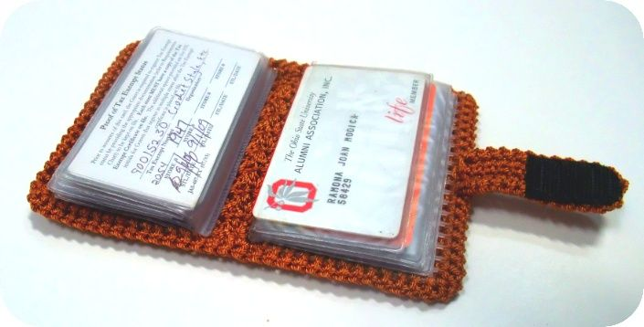 Creative Yarn Source/Crochet Style Etc Picture/Credit Card Wallet