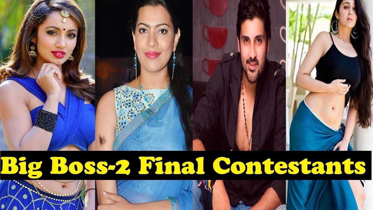 Big Boss Telugu Season 2 Final Contestants List 2018 || Big Boss 2