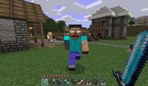 Herobrine Mod Para Minecraft Minecraft Pinterest Nudel - Minecraft herobrine spiele