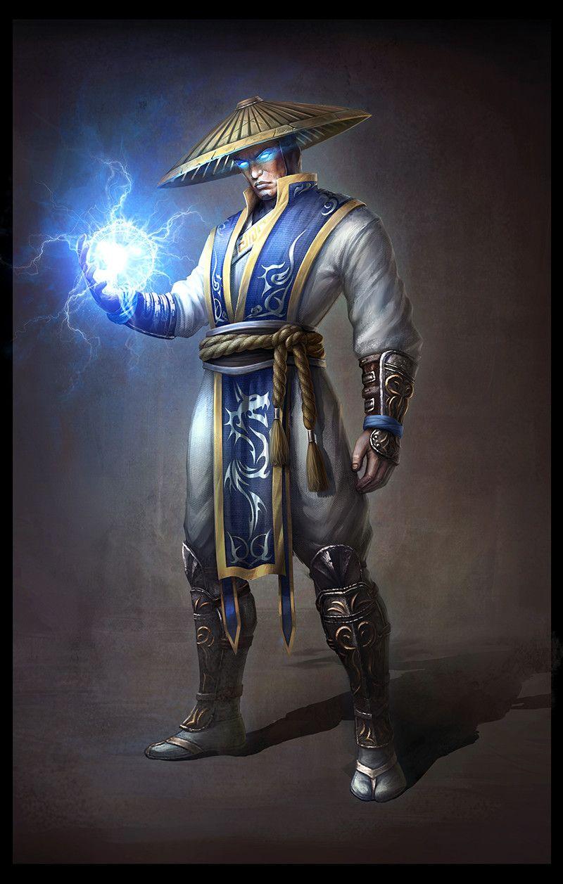 Lord Raiden God Of Thunder Mortal Kombat Cosplay Raiden Mortal Kombat Mortal Kombat Art
