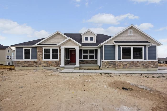 Hadley Rambler Floor Plan Utah Edge Homes Farmhouse Floor Plans House Exterior Blue House Plans Farmhouse