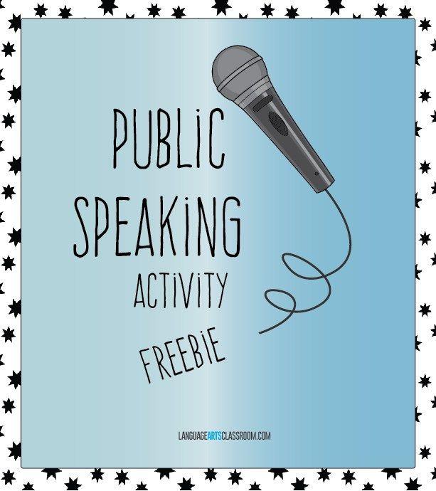 Public Speaking Activities | Public, Public speaking activities ...