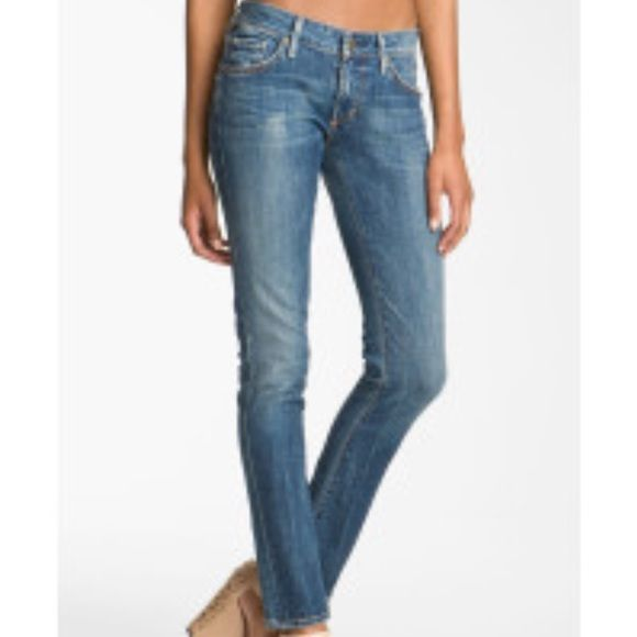 Citizens of Humanity Blue Racer Low Rise Skinny. Cute JeansPerfect ...