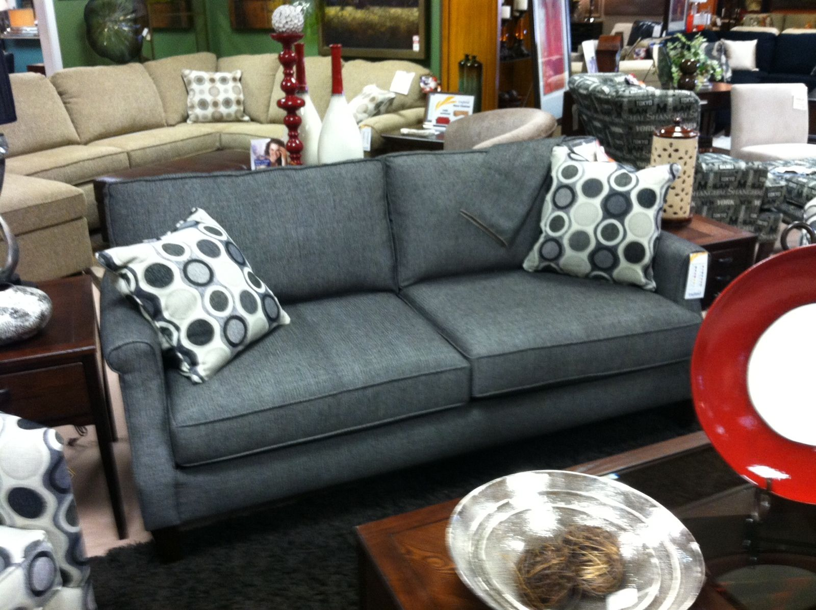 Attractive Option #2 At Deets   No Love Seat, Couch 76x38   England Furniture