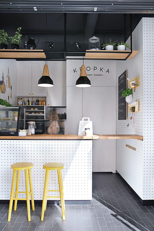 Un snack-bar de 11,5m² | Cafes, Restaurants and Coffee shop