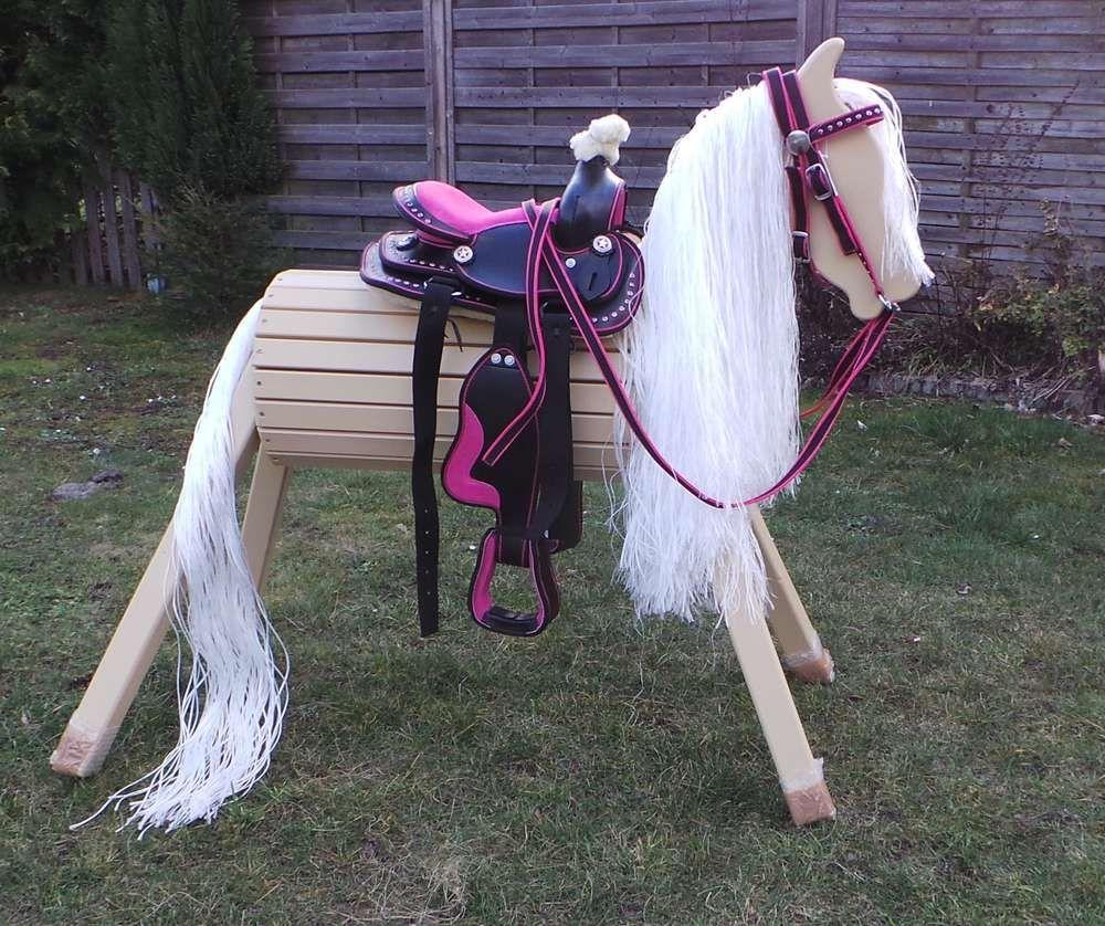Holzpferd Mit Bis Zu 5 Jahren Garantie Holzpferd Voltigierpferd Holz Holzpferd Garten