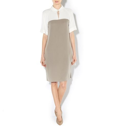 Nicole Heavy Silk Dress | Hobbs London