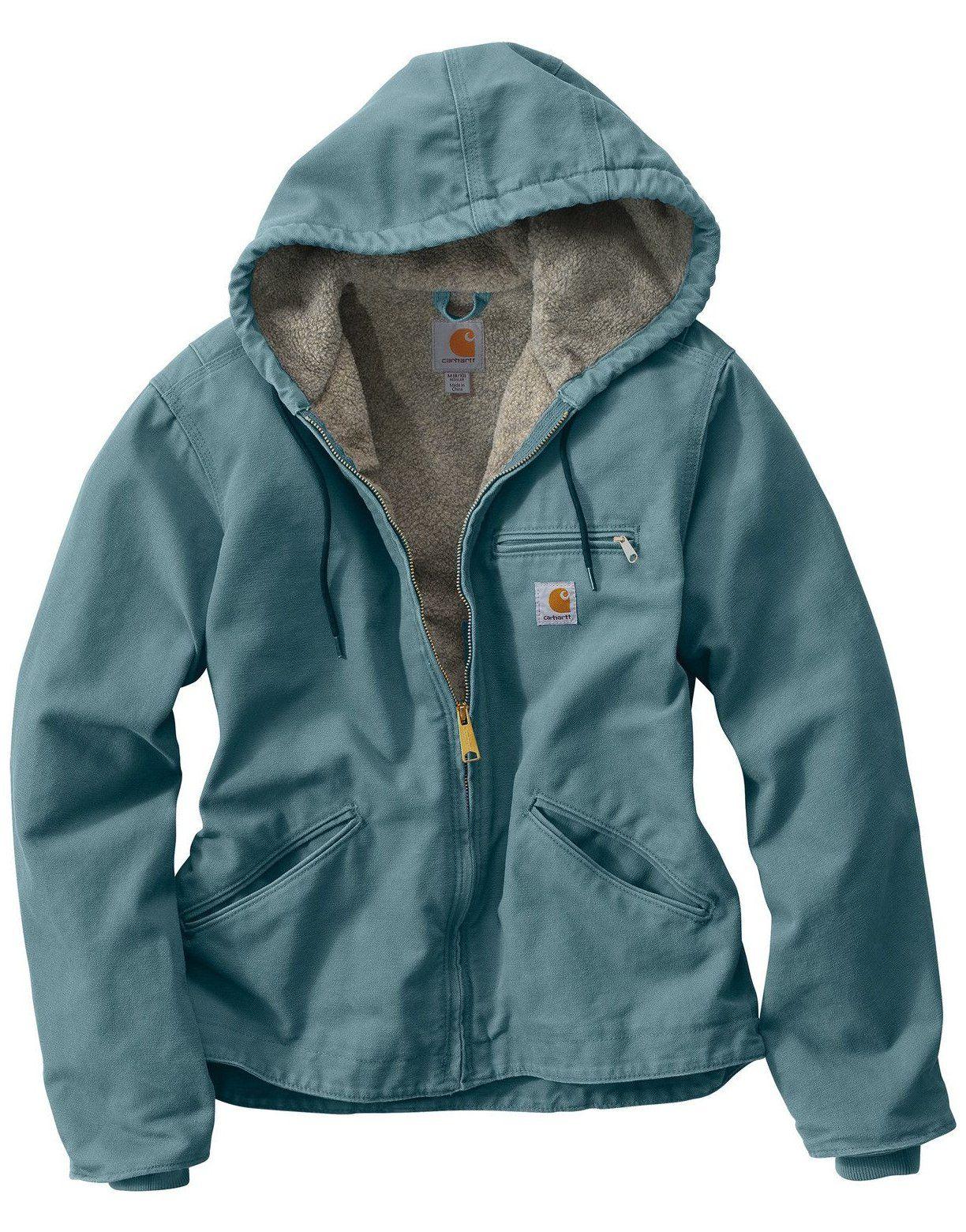 Carhartt Women S Sandstone Sierra Sherpa Lined Jacket Carhartt Women Outfits Jackets 2020 Kadin Paltolari Mont Kadin Kiyafetleri [ 1560 x 1224 Pixel ]