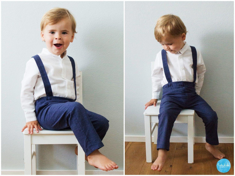Details zu Hemd Baby Junge Kinder Kind Taufe Body Hemd Hochzeit Anzug Body 2tlg Weiß Blau