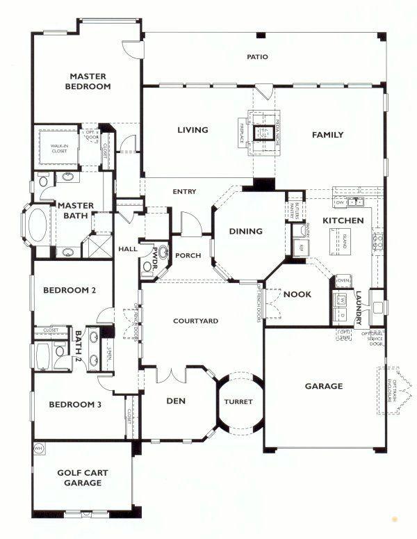 Trilogy at Vistancia Vesta Floor Plan Model, Shea Trilogy ... on 3 bed 3 bath floor plans, 5 bed 3 bath floor plans, 6 bed 3 bath floor plans, 2 bed 1 bath floor plans, bathroom floor plans, 4 bedroom home floor plans,