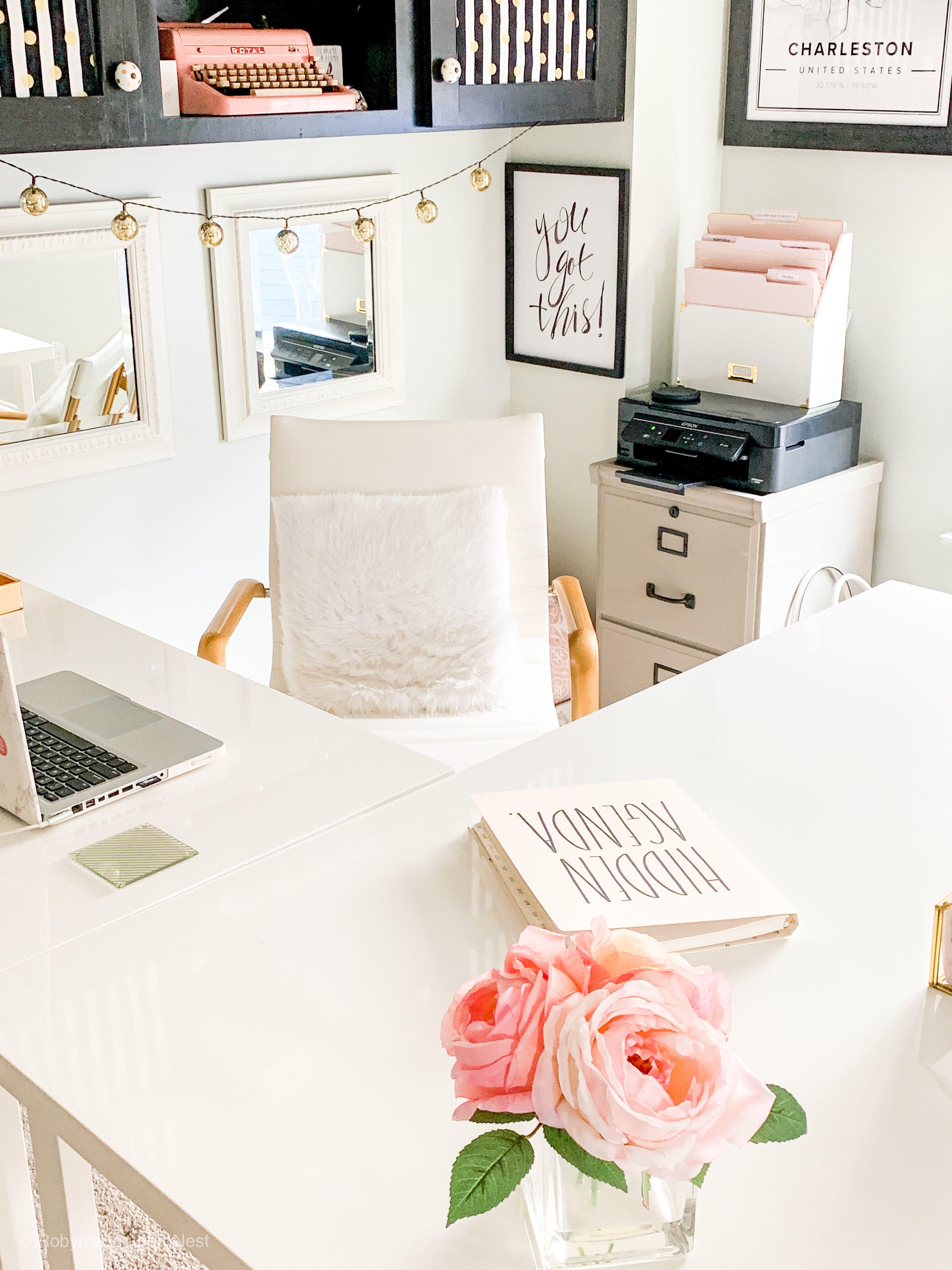 13++ Feminine l shaped desk ideas