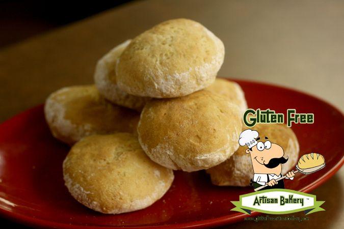 Fresh Baked Artisan Gluten Free Vegan Mini Sandwich Rolls