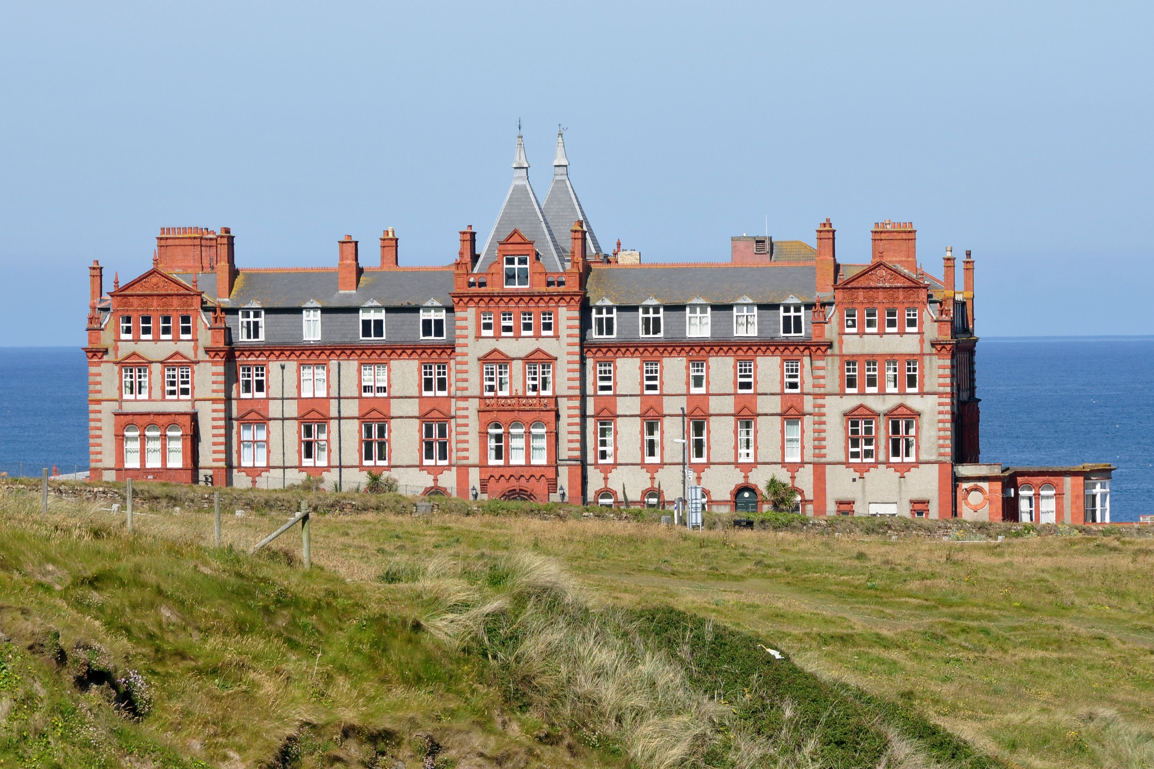 Foyer Hotel Cornwall : Headland hotel cornwall where the witches was filmed
