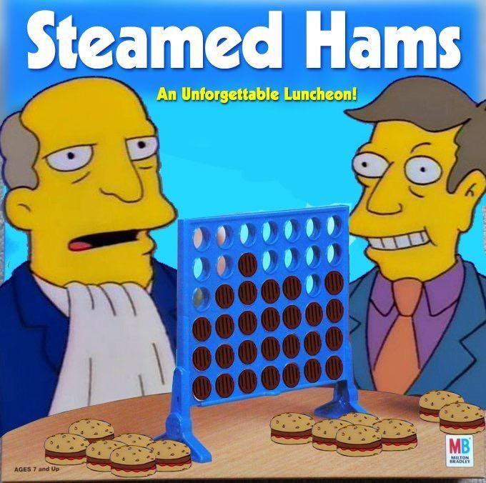 Steamed Hams but it's a Connect Four meme | Connect four ...