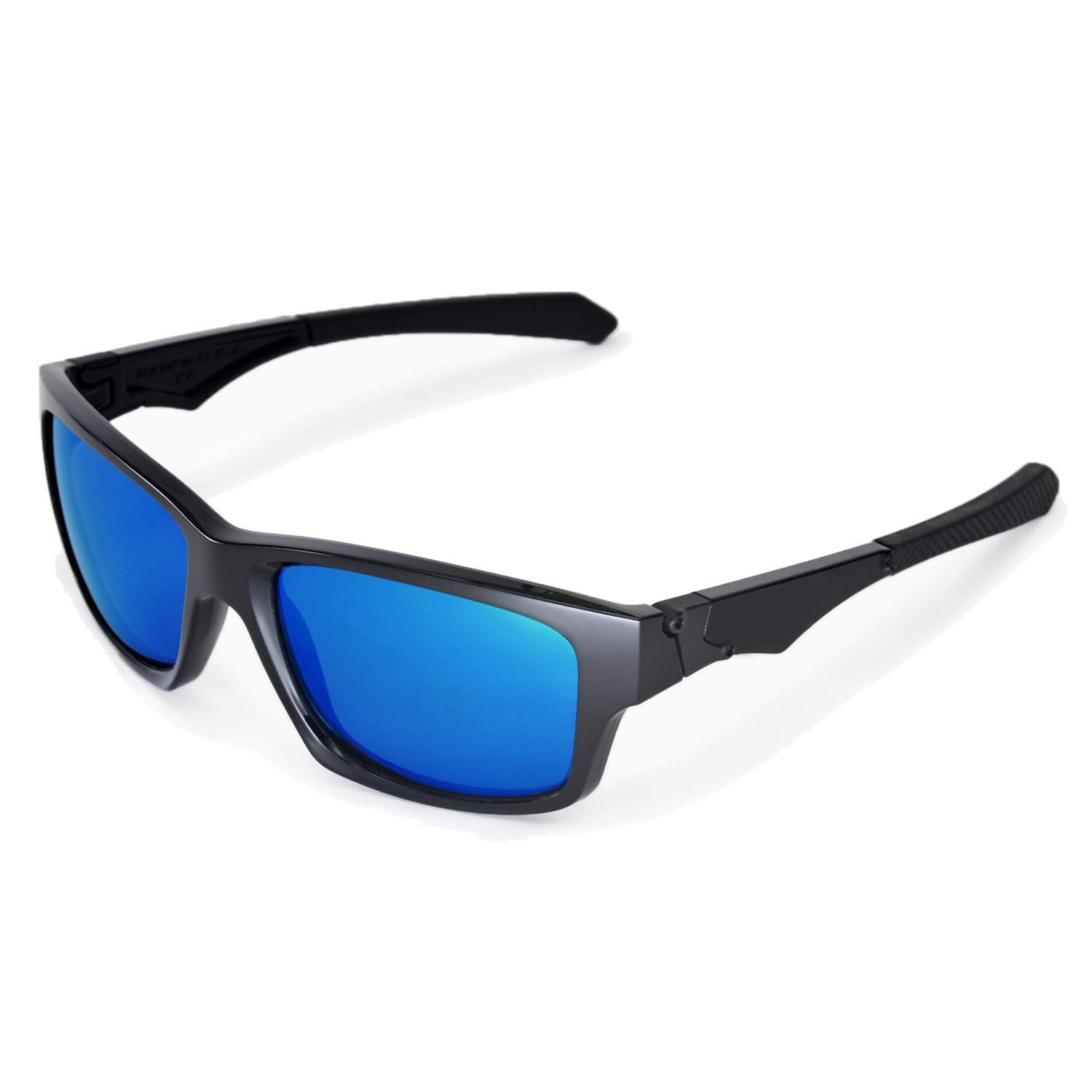 8ae8922d65a98 Walleva Replacement Lenses for Oakley Jupiter Squared Sunglasses Multiple  Options Available Ice Blue Polarized     Want to know more
