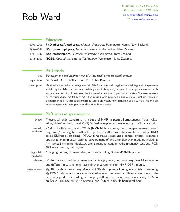 Free Resume Templates New Zealand Freeresumetemplates Resume - Sample-of-cv-or-resume-in-new-zealand