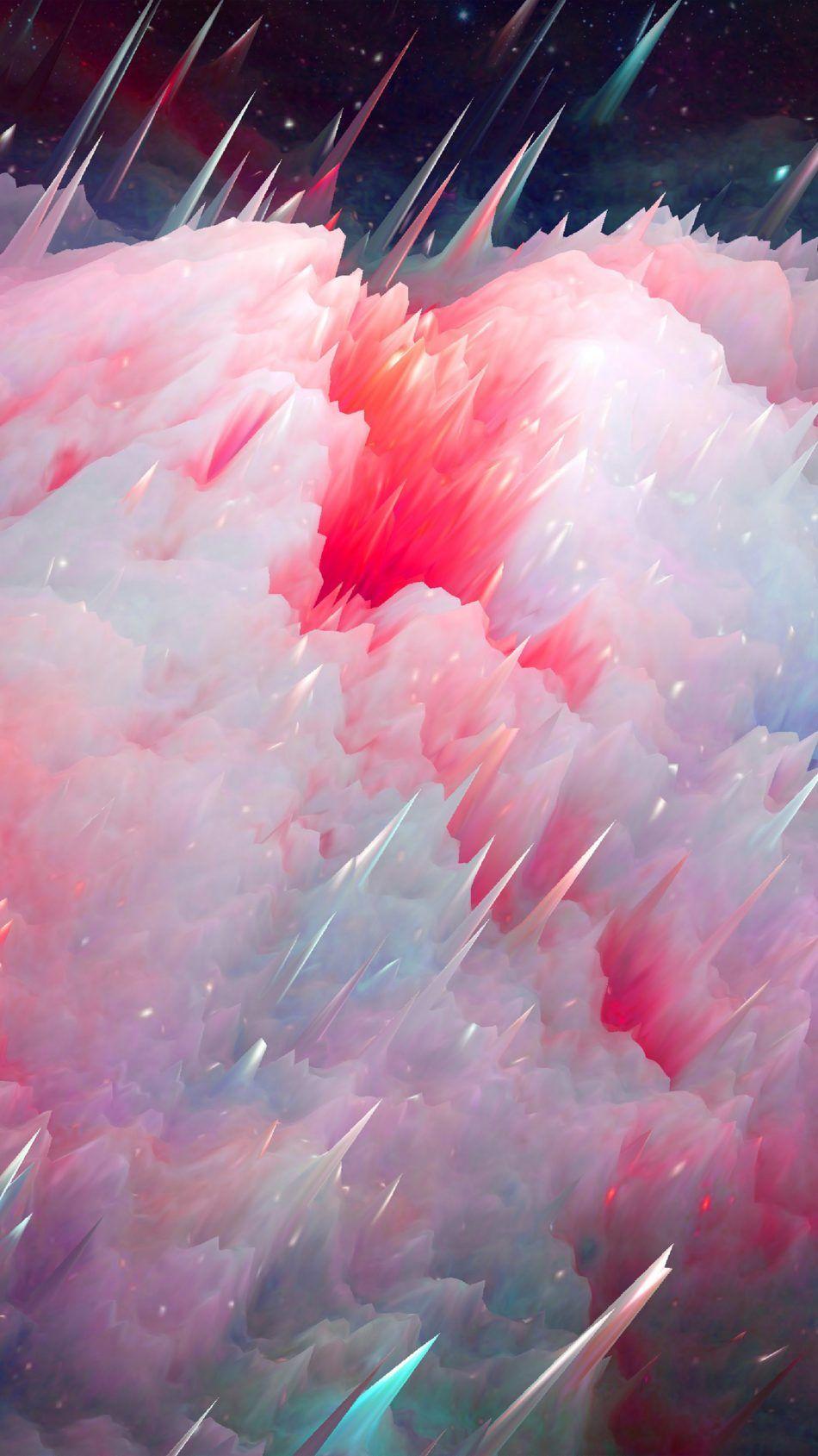 Nebula Colorful Explosion Graphics Original Iphone Wallpaper
